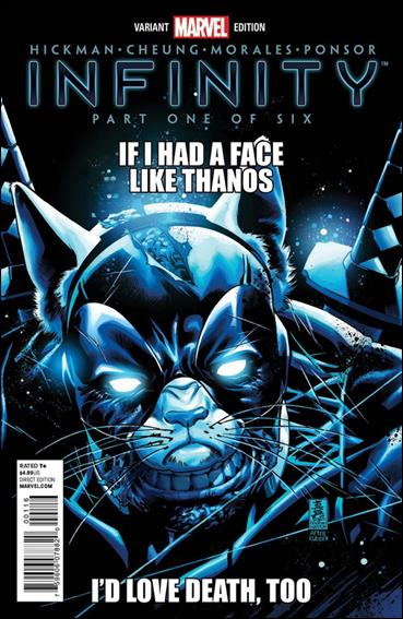 Infinity 1-I by Marvel