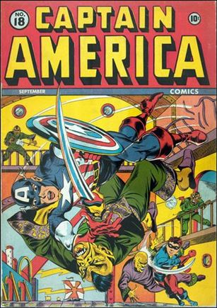 Captain America Comics (1941) 18-A