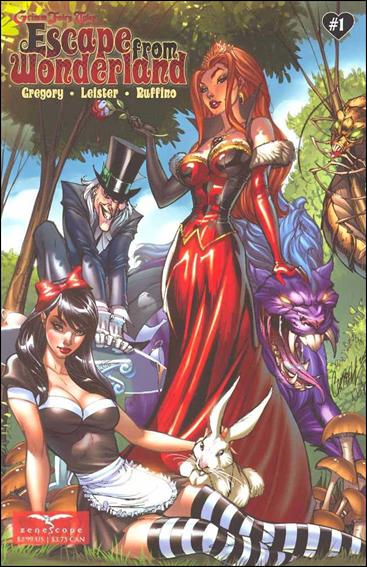 Escape from Wonderland 1-A by Zenescope Entertainment