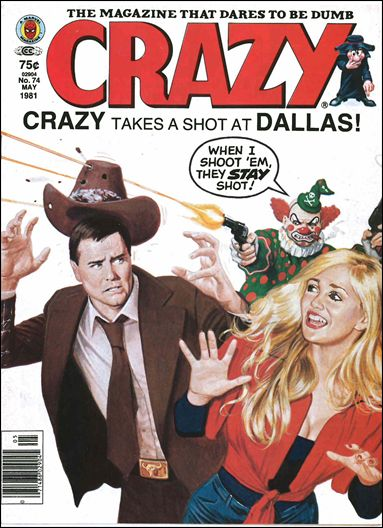 Crazy (1973/03) 74-A by Marvel