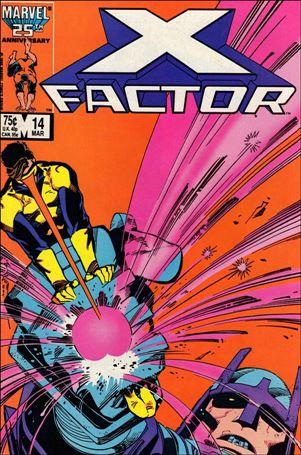X-Factor (1986) 14-A