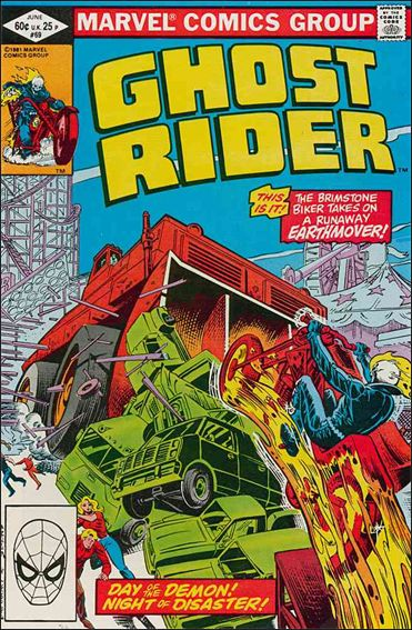 Ghost Rider (1973) 69-A by Marvel