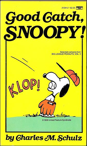 Good Catch, Snoopy! 1-A by Fawcett