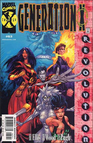 Generation X (1994) 63-A by Marvel