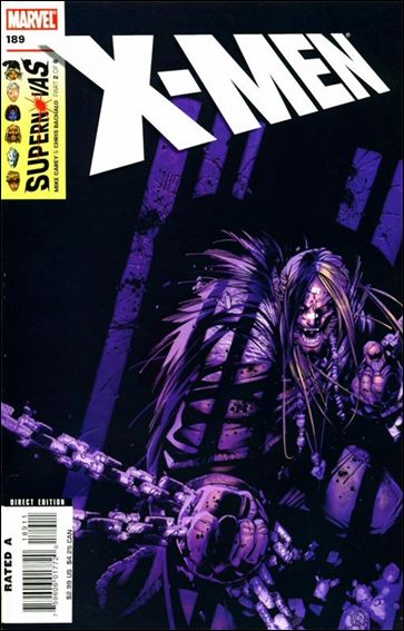X-Men (1991) 189-A by Marvel