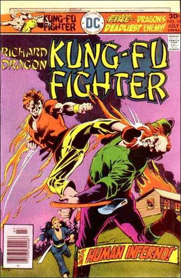 Richard Dragon, Kung-Fu Fighter 10-A by DC
