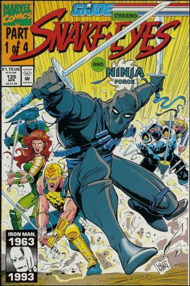 G.I. Joe: A Real American Hero 135-A by IDW