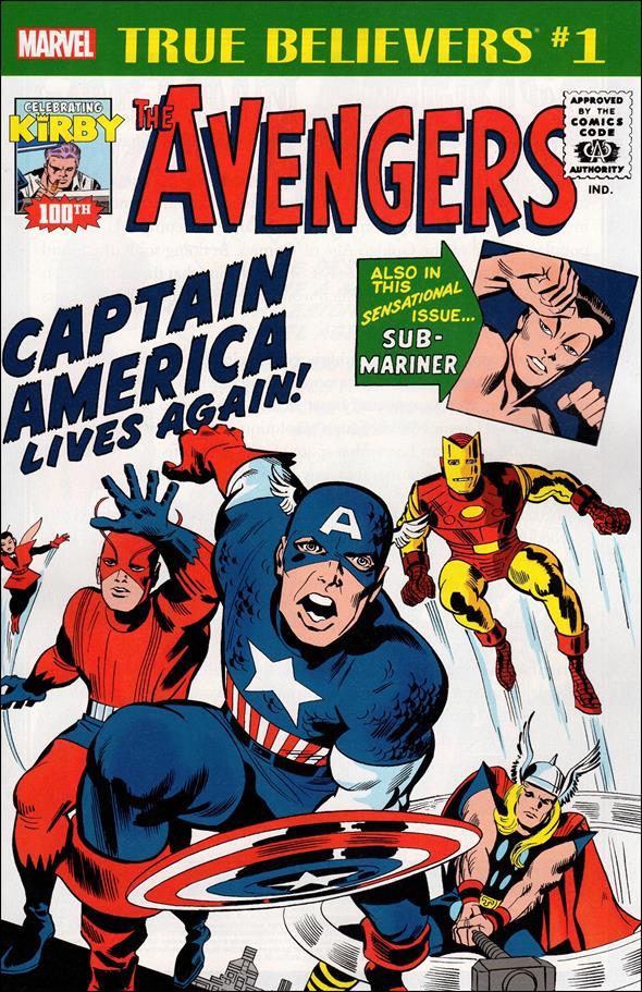 Avengers (1963) 4-F by Marvel