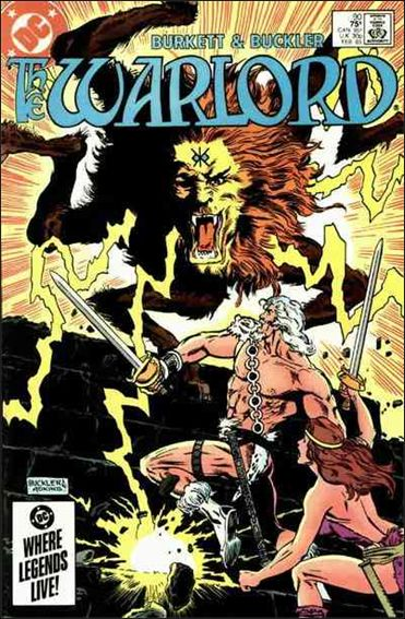 Warlord (1976) 90-A by DC