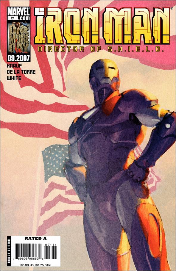 Invincible Iron Man (2005) 21-A by Marvel