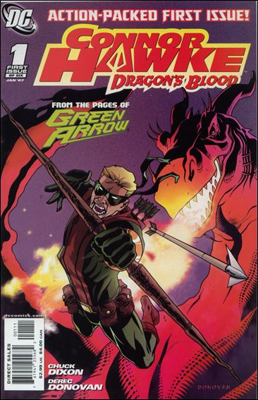 Connor Hawke: Dragon's Blood 1-A by DC