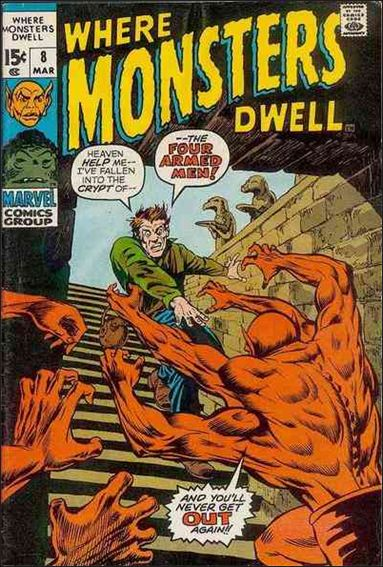 Where Monsters Dwell 8-A by Marvel