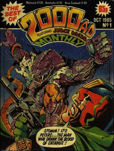 Best of 2000 A.D. Monthly 1-A by Fleetway