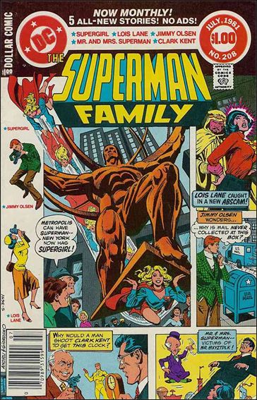 Superman Family 208-A by DC