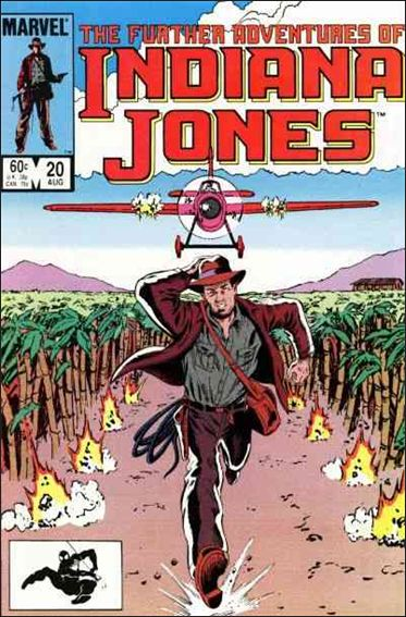 Further Adventures of Indiana Jones 20-A by Marvel