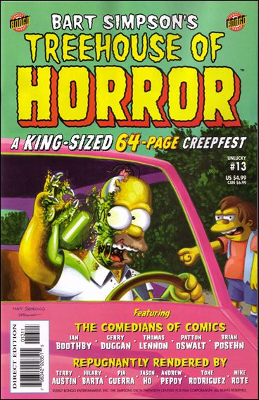 Treehouse of Horror 13-A by Bongo