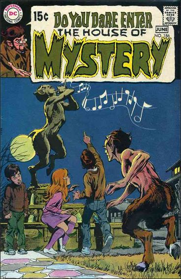 House of Mystery (1951) 186-A by DC