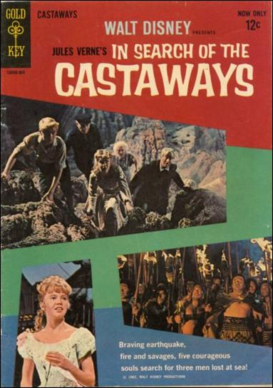 Walt Disney Presents In Search of the Castaways nn-A by Gold Key