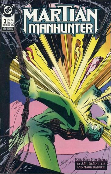 Martian Manhunter (1988) 3-A by DC