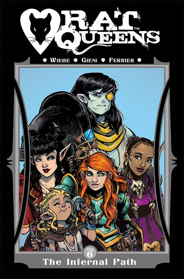 Rat Queens 6-A by Shadowline
