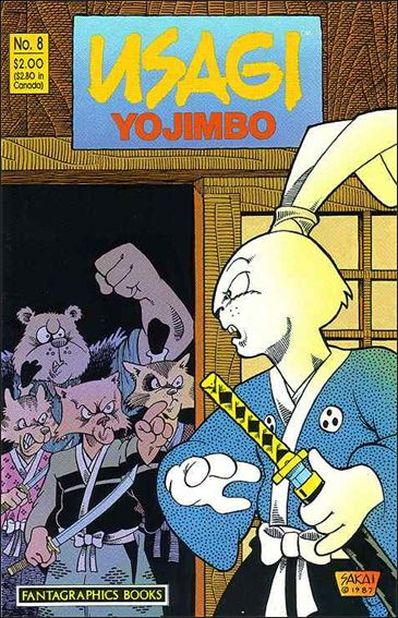 Usagi Yojimbo (1987) 8-A by Fantagraphics