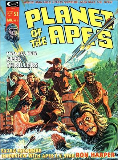 Planet of the Apes (1974) 4-A by Marvel