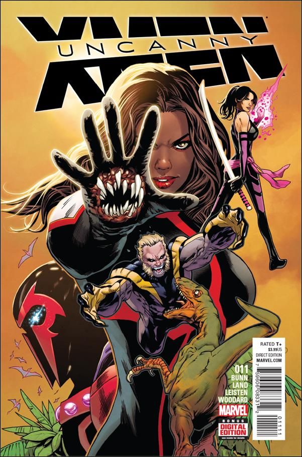 Uncanny X-Men (2016) 11-A by Marvel