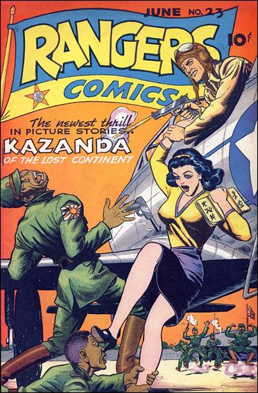 Rangers Comics 23-A by Fiction House Magazines