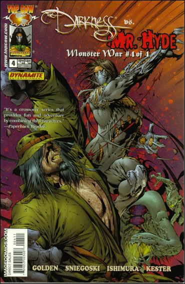 Darkness vs Mr. Hyde: Monster War 2005 4-A by Top Cow