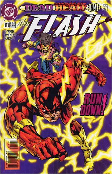Flash (1987) 111-A by DC