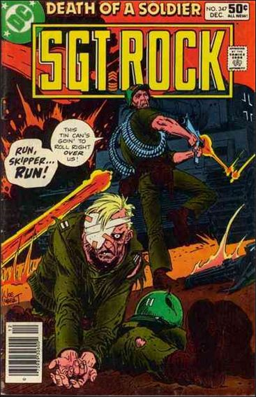 Sgt. Rock (1977) 347-A by DC
