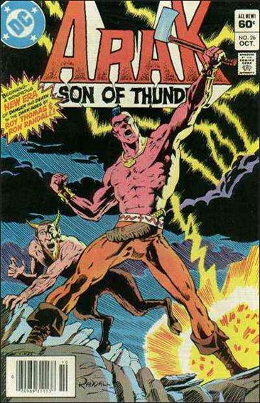 Arak Son of Thunder 26-A by DC