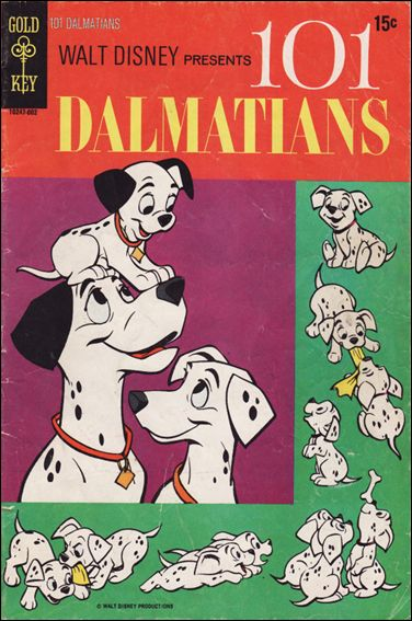 Walt Disney Presents 101 Dalmatians 1-A by Gold Key