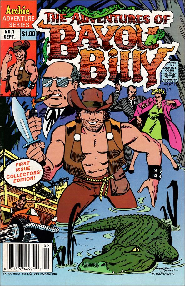 Adventures of Bayou Billy 1-A by Archie