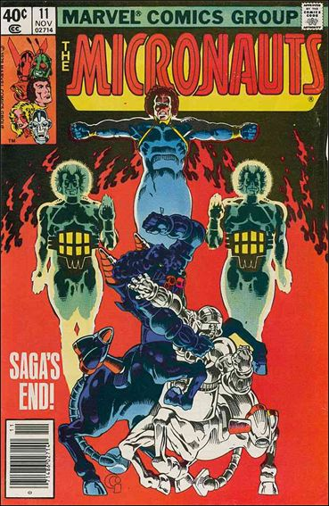 Micronauts (1979) 11-A by Marvel