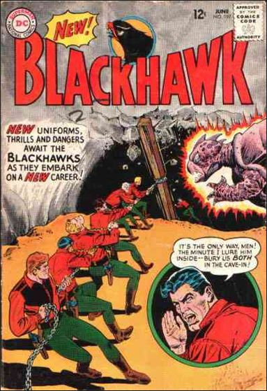 Blackhawk (1944) 197-A by DC