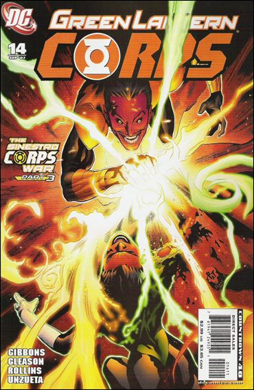 Green Lantern Corps (2006) 14-A by DC