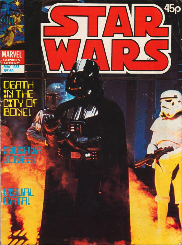 Star Wars Weekly (UK) 169-A by Marvel UK