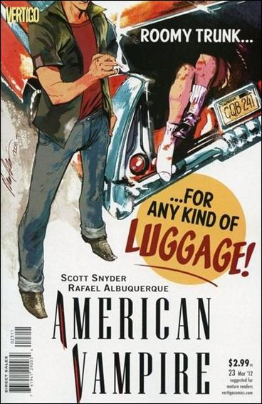 American Vampire 23-A by Vertigo