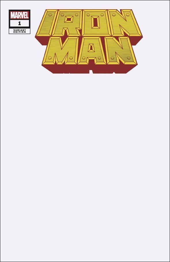 Iron Man (2020) 1-E by Marvel