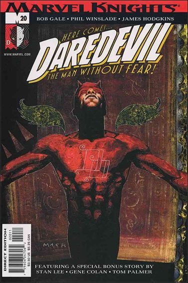 Daredevil (1998) 20-A by Marvel