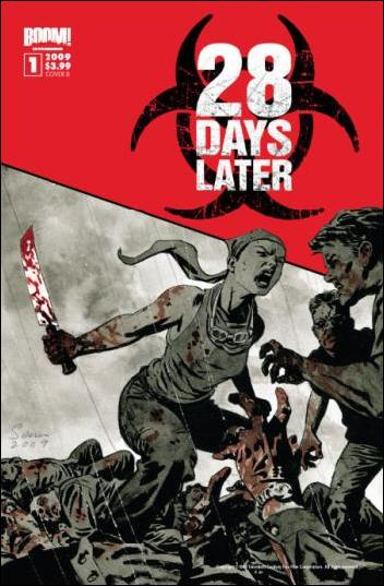 28 Days Later 1-B by Boom! Studios