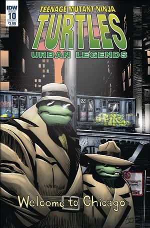 Teenage Mutant Ninja Turtles: Urban Legends 10-A