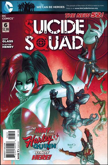 Suicide Squad (2011) 6-B by DC