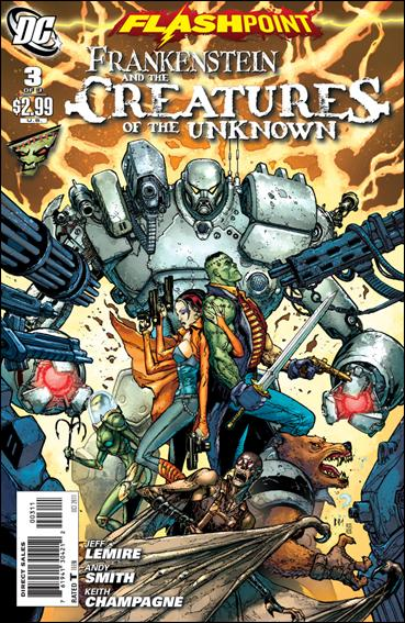 Flashpoint: Frankenstein & the Creatures of the Unknown 3-A by DC