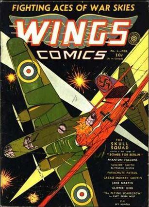 Wings Comics (1940) 6-A