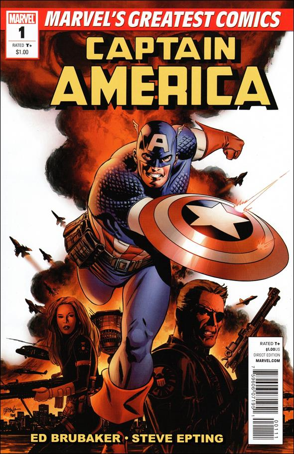 Captain America (2005) 1-B by Marvel