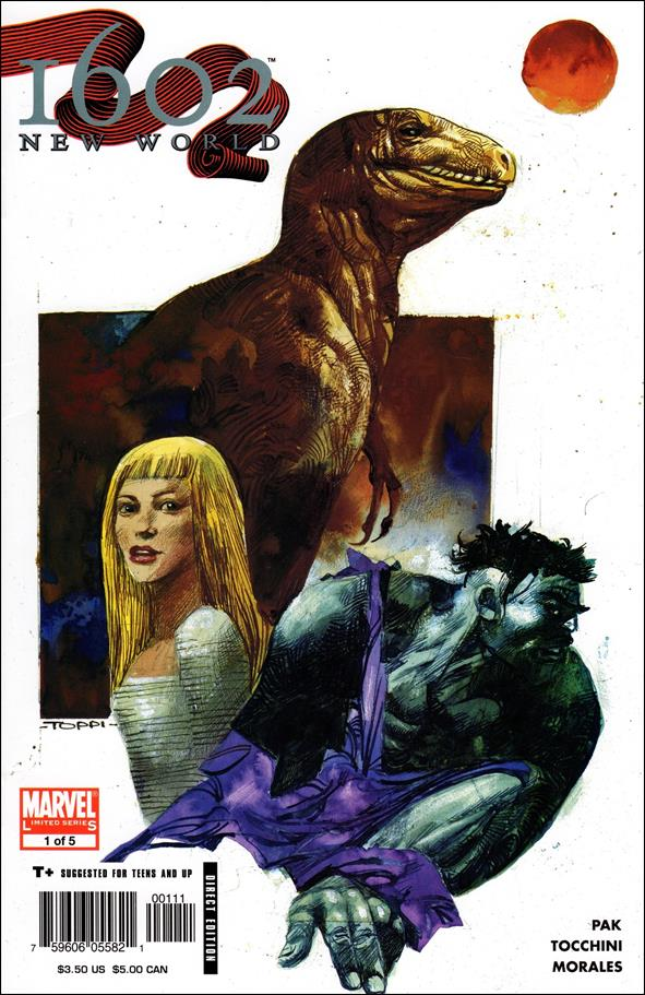 Marvel 1602: New World 1-A by Marvel