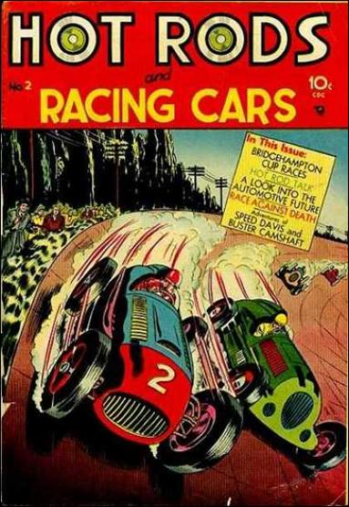 Hot Rods and Racing Cars 2-A by Charlton