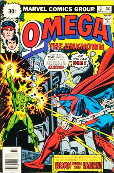 Omega: The Unknown (1976) 3-B by Marvel